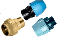 Compress fittings