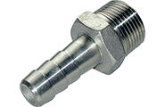 Stainless hose fittings